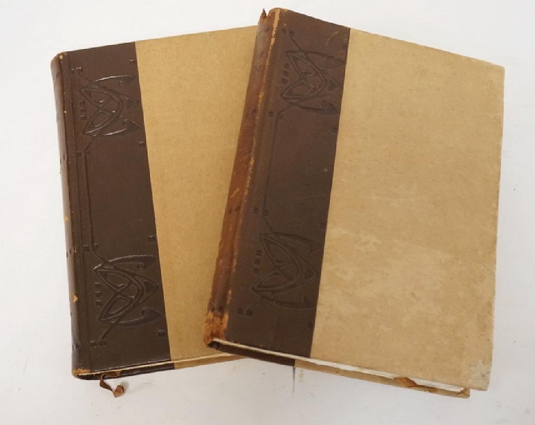 2 ELBERT HUBBARD - ROYCROFTERS BOOKS. ENGLISH AUTHORS.