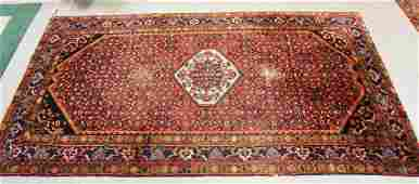 HAND WOVEN ORIENTAL RUG MEASURING 10 FT 6 INCHES X 5 FT