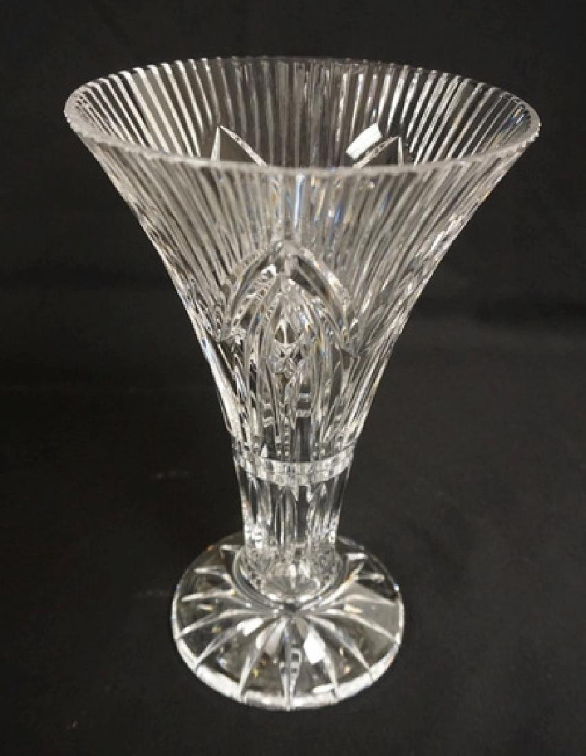 Crystal trumpet vase measuring 10 inches waterford crystal trumpet vase measuring 10 inches reviewsmspy