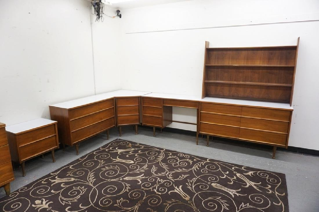 PS MODERN CORNER WALL UNIT WITH WHITE FORMICA TOPS.. for modern corner wall unit  104xkb