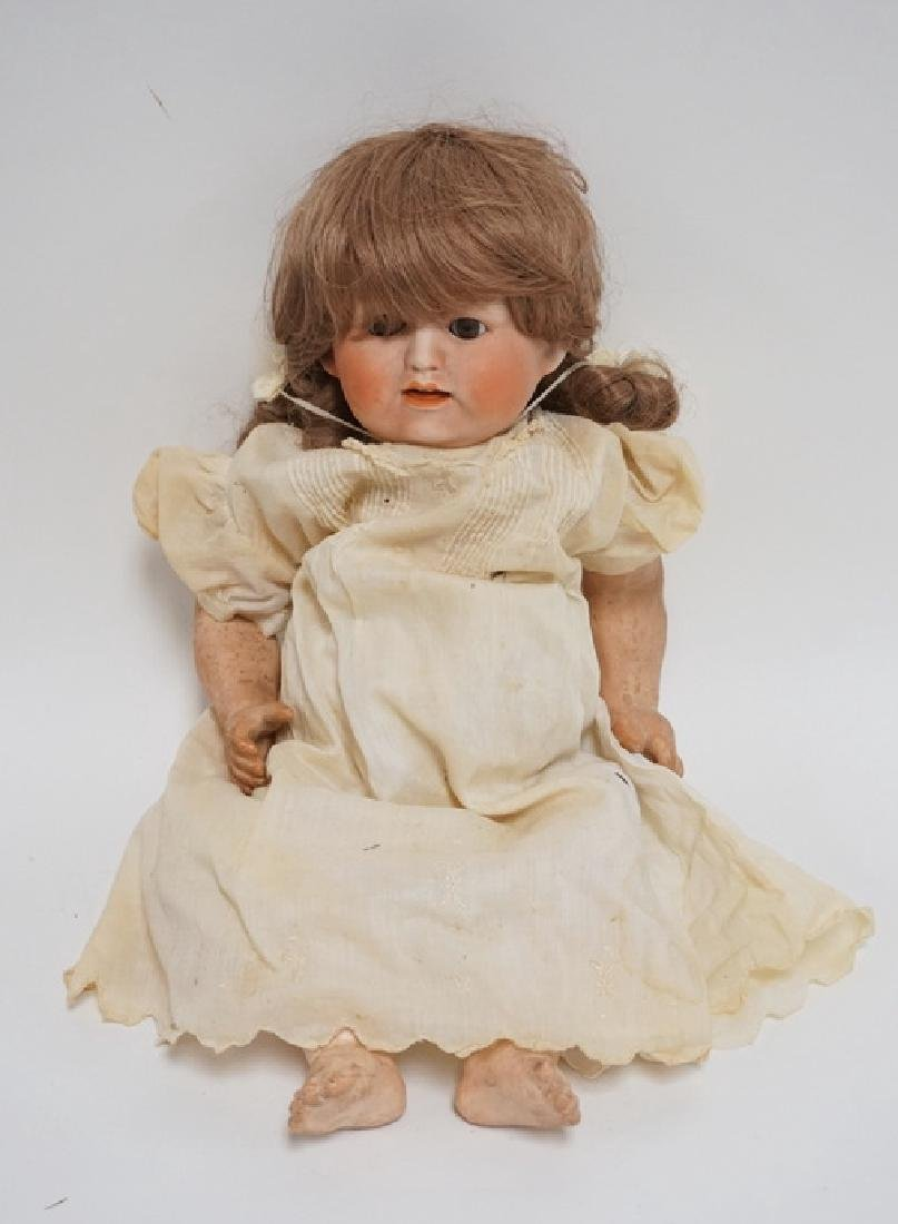 NIPPON PORCELAIN DOLL MEASURING 16 INCHES HIGH.