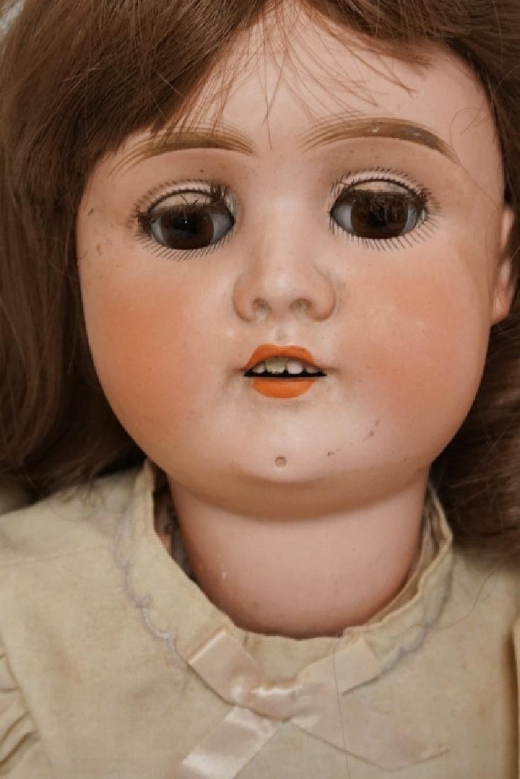ANTIQUE GERMAN BISQUE HEADED DOLL MEASURING 25 INCHES - 4