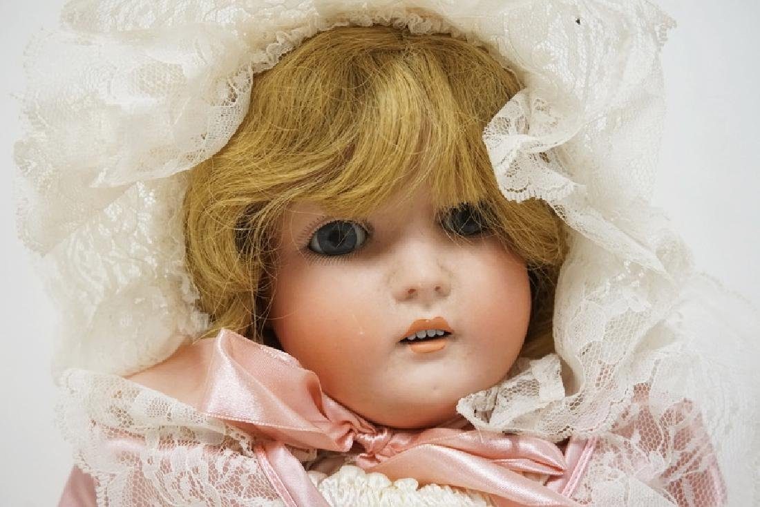ANTIQUE GERMAN BISQUE HEADED DOLL MARKED *GERMANY 171*. - 2