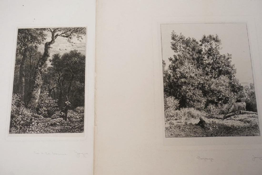 12 ETCHINGS BY CHARLES JACQUES. - 6