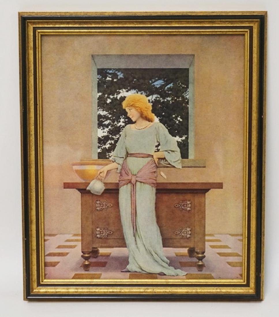MAXFIELD PARRISH ILLUSTRATIOIN FROM THE KNAVE OF