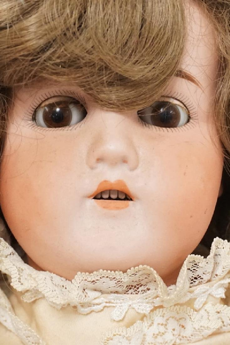 BISQUE HEAD DOLL MARKED GERMANY B 6. 25 IN H - 4