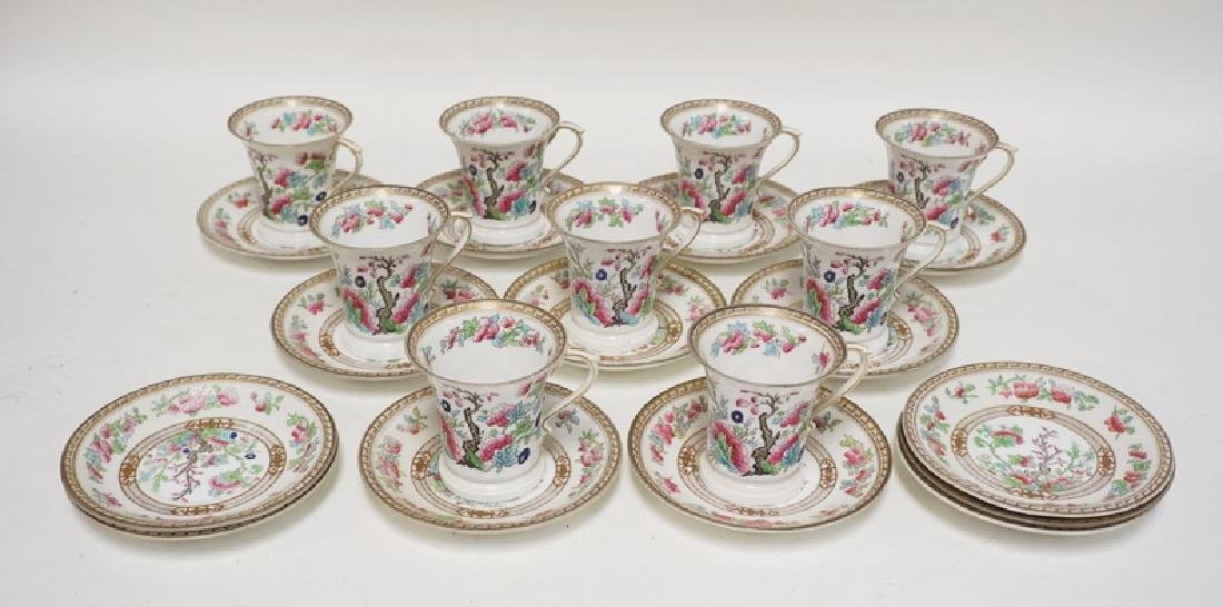 8 CUP AND SAUCER SETS. ROYAL DOULTON FOR TIFFANY & CO.