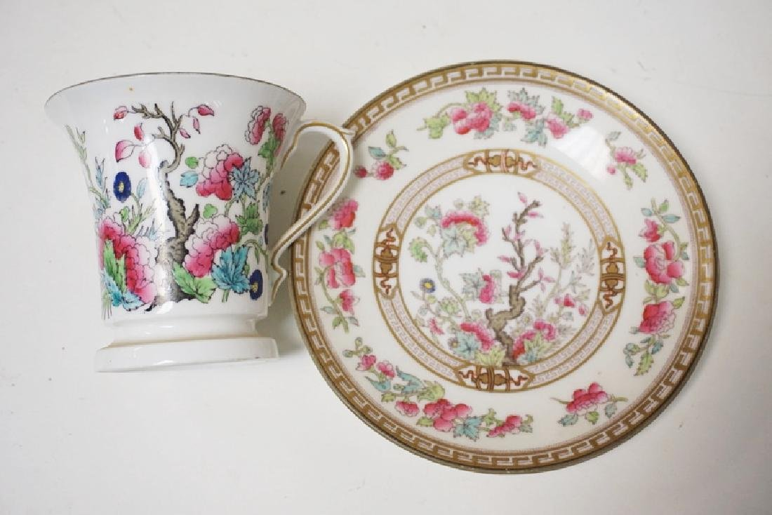 8 CUP AND SAUCER SETS. ROYAL DOULTON FOR TIFFANY & CO. - 2