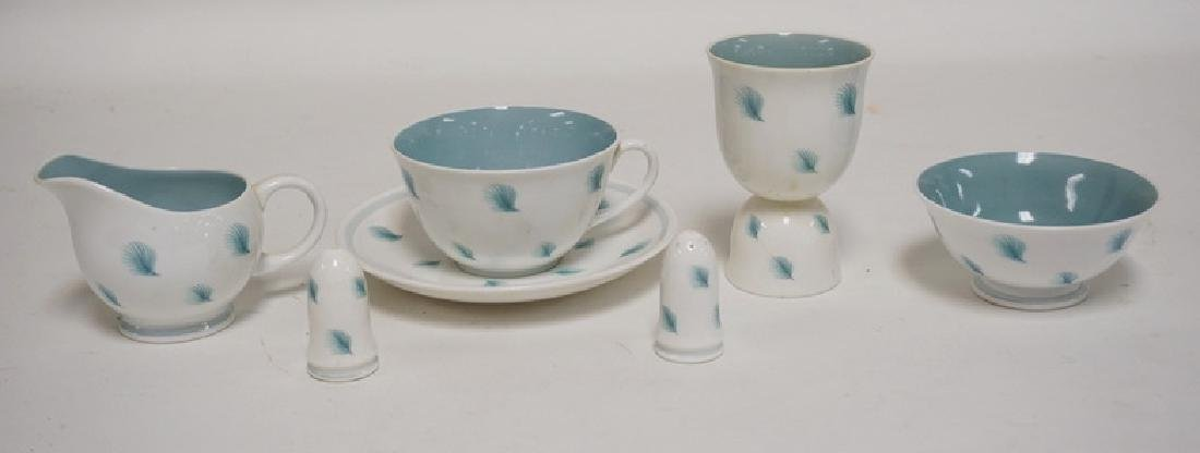 SUSIE COOPER *WHISPERING GRASS* PORCELAIN. CUP, SAUCER,