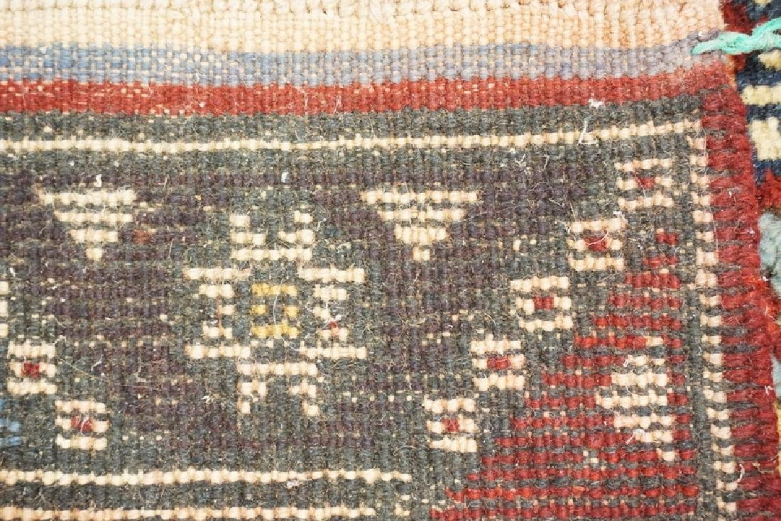 HAND WOVEN TURKISH RUG MEASURING 6 FT 4 INCHES X 3 FT 9 - 3