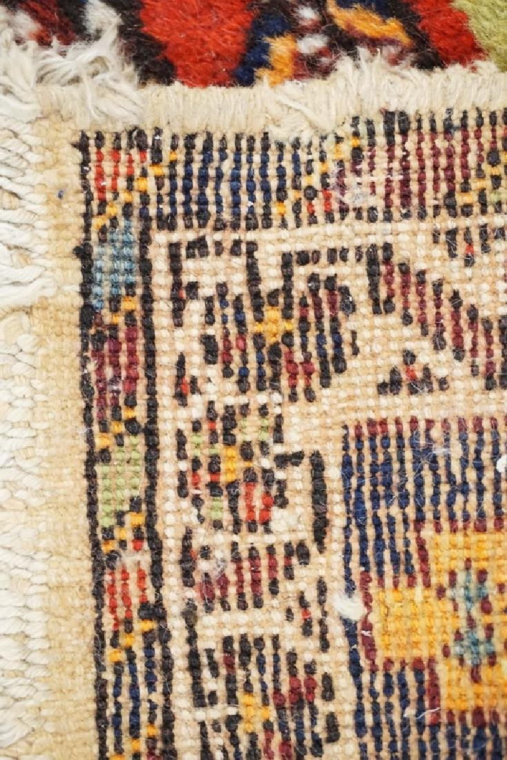 HAND WOVEN ORIENTAL RUG MEASURING 6 FT 5 X 5 FT. - 3