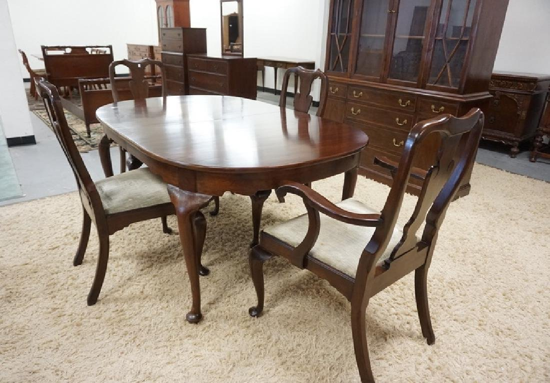 6 PIECE HENKEL HARRIS - VIRGINIA GALLERIES MAHOGANY