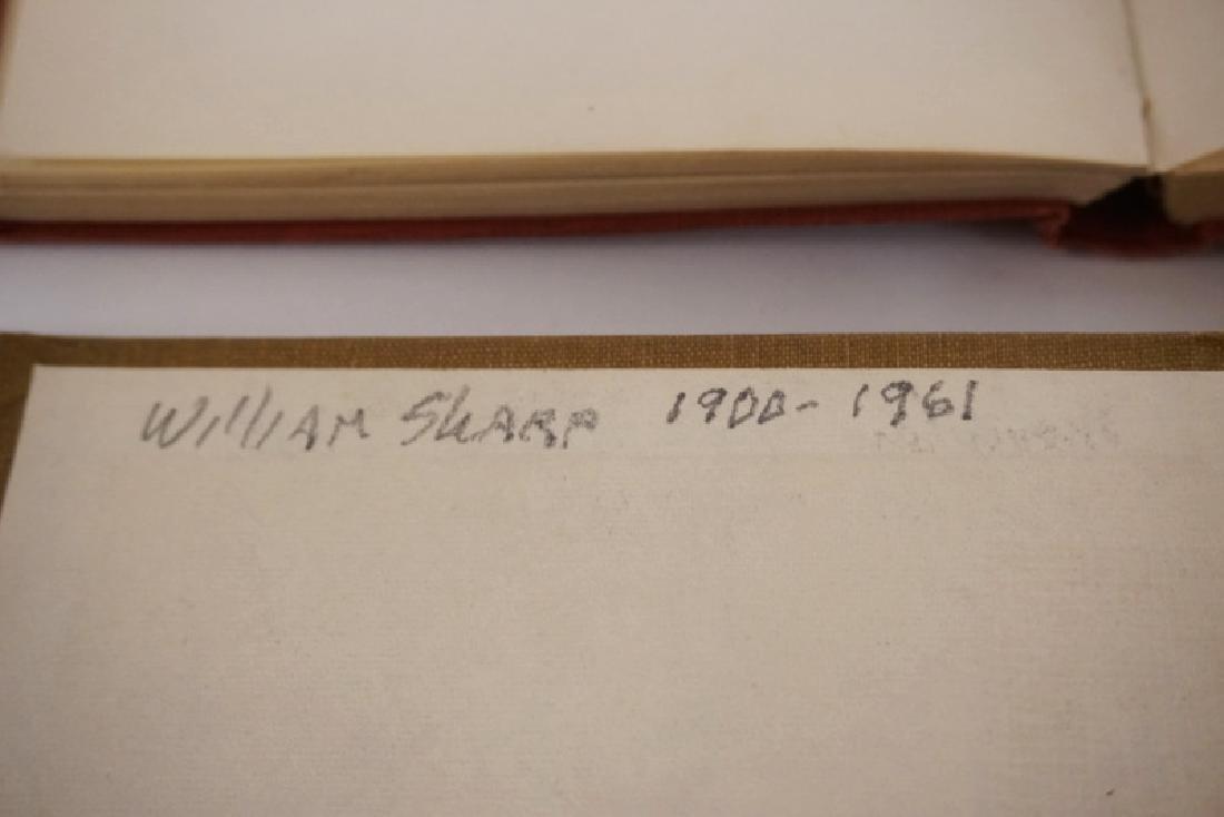 LOT OF 4 SKETCH BOOKS OF WILLIAM SHARP. WILLIAM SHARP - 11