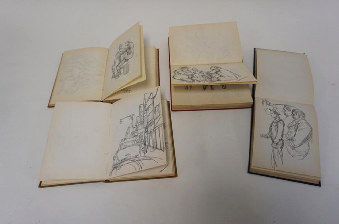 LOT OF 4 SKETCH BOOKS OF WILLIAM SHARP. WILLIAM SHARP - 6