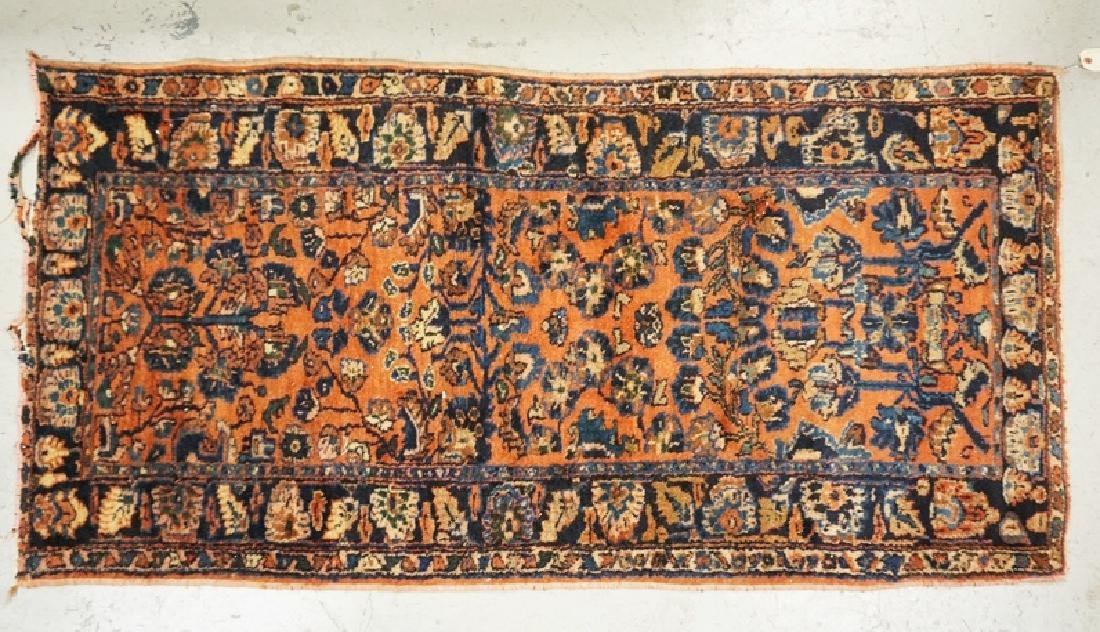 ORIENTAL RUG MEASURING 2 FT 11 X 5 FT 9 INCHES.