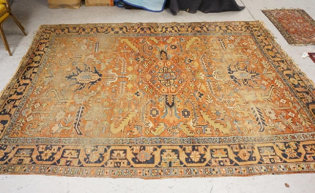 ROOM SIZE ORIENTAL RUG MEASURING 8 FT 7 INCHES X 10 FT
