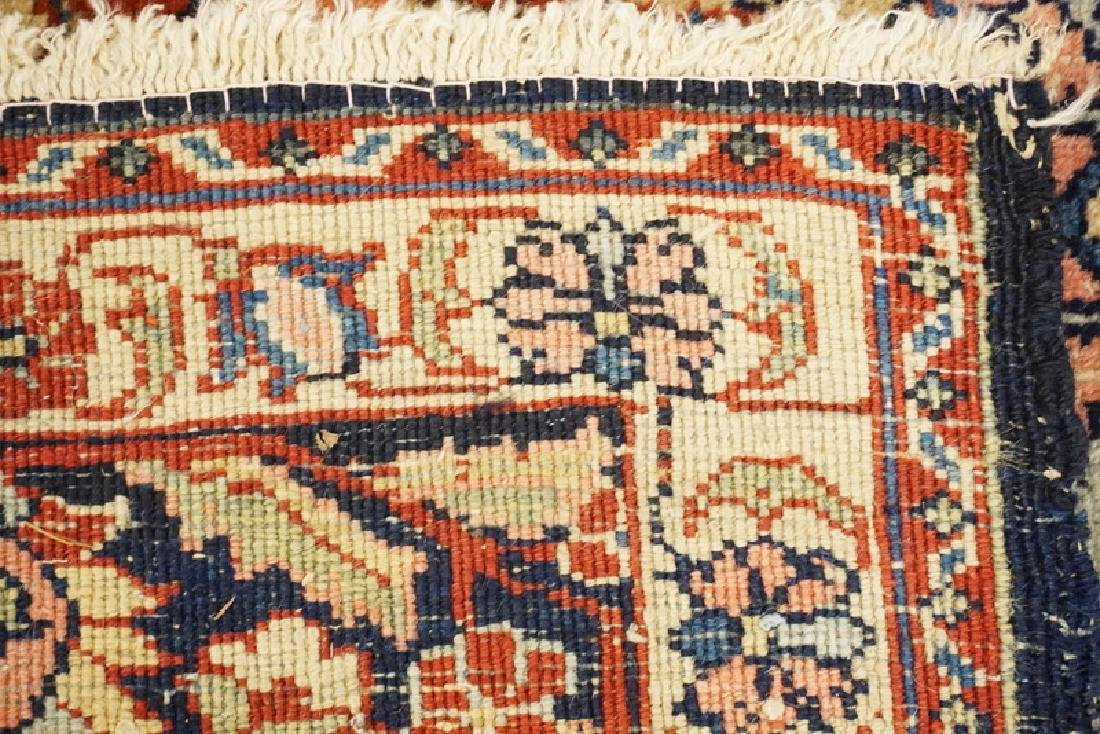 HAND WOVEN ORIENTAL AREA RUG MEASURING 5 FT 6 X 4 FT 6 - 2