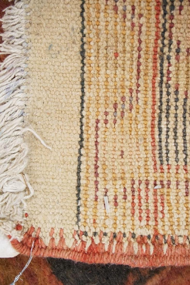 SMALL HAND WOVEN ORIENTAL RUG MEASURING 3 FT 5 INCHES X - 2
