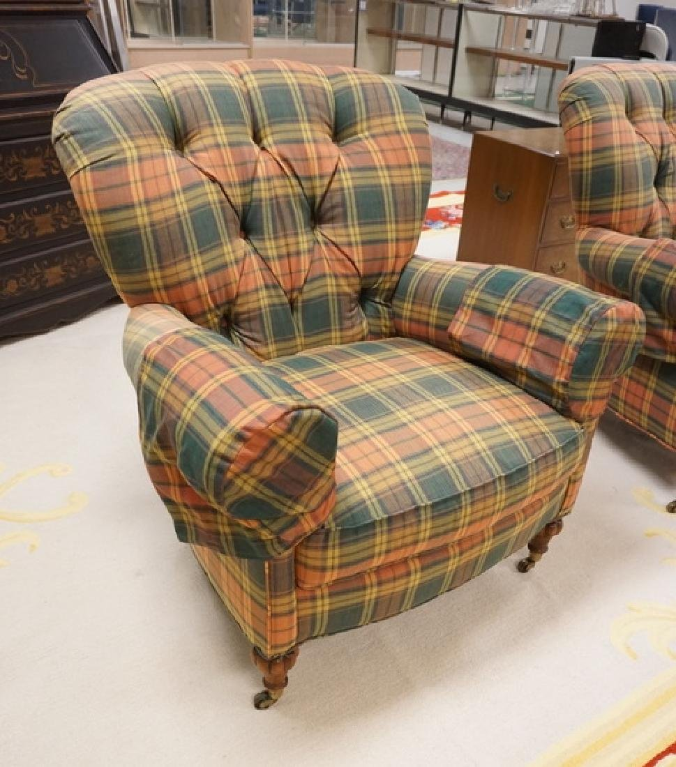 MARK HAMPTON BY HICKORY CHAIR UPHOLSTERED LOUNGE CHAIR - 2