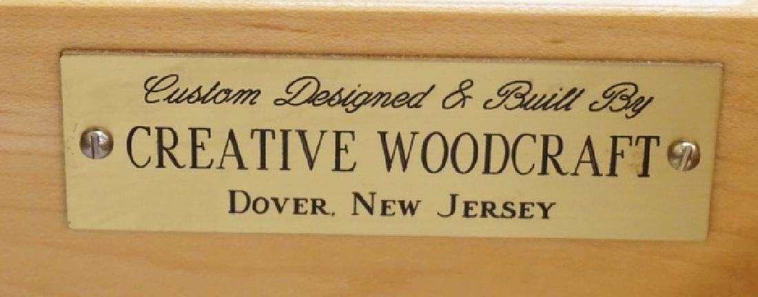 PAIR OF 2 DRAWER CHESTS MADE BY *CREATIVE WOODCRAFT*. - 2