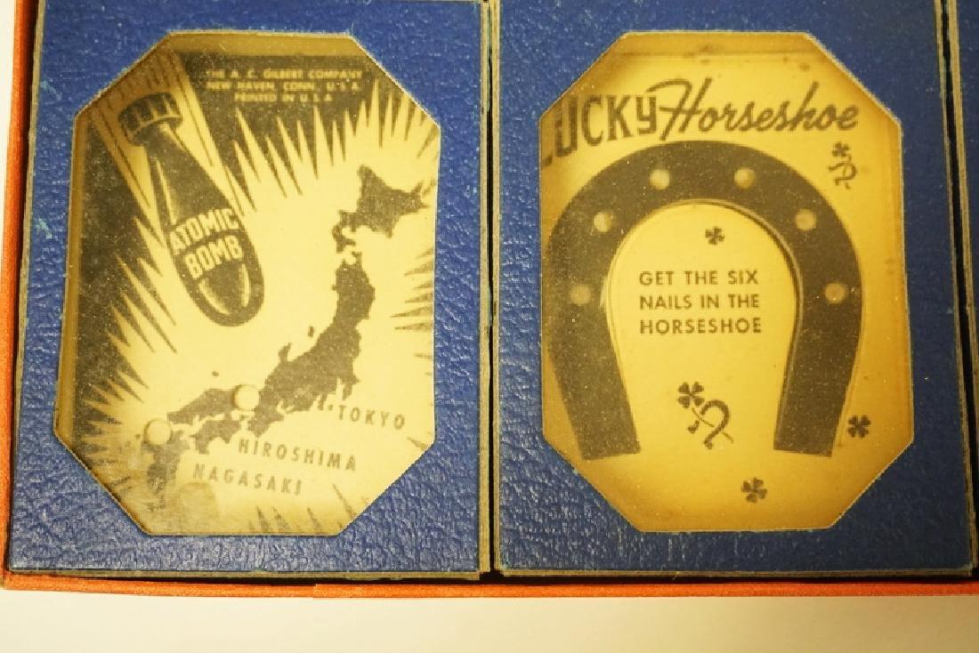 VINTAGE 1940'S GILBERT BOXED PROBLEM PUZZLES #1034 - 2