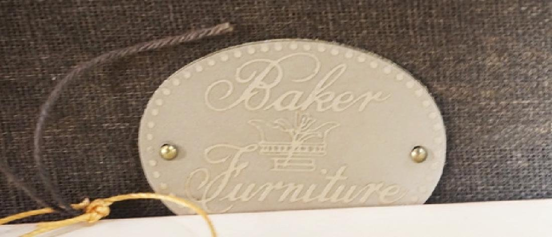 BAKER FURNITURE BENCH MEASURING 42 X 14 AND 19 INCHES - 4