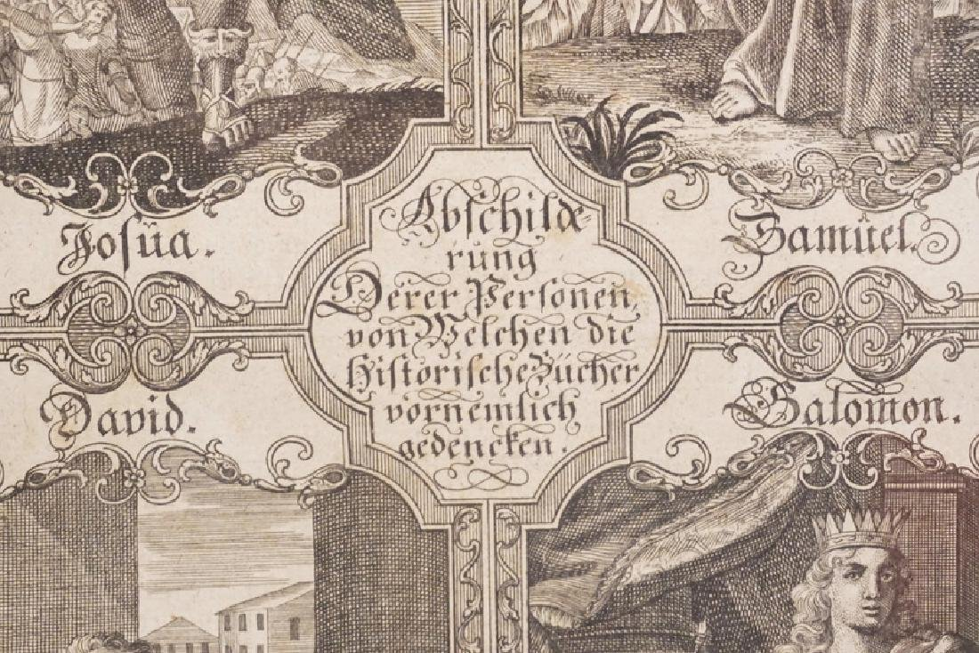 JOHANN ADAM DELSENBACH ENGRAVING OF JOSHUA, SAMUEL, - 2