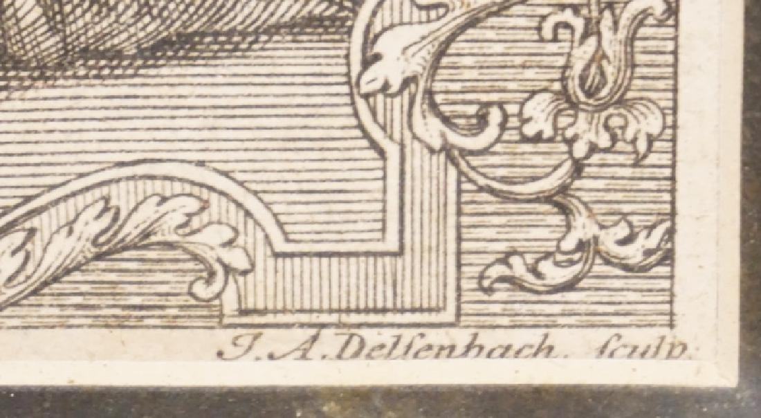 JOHANN ADAM DELSENBACH ENGRAVING OF JOSHUA, SAMUEL, - 3