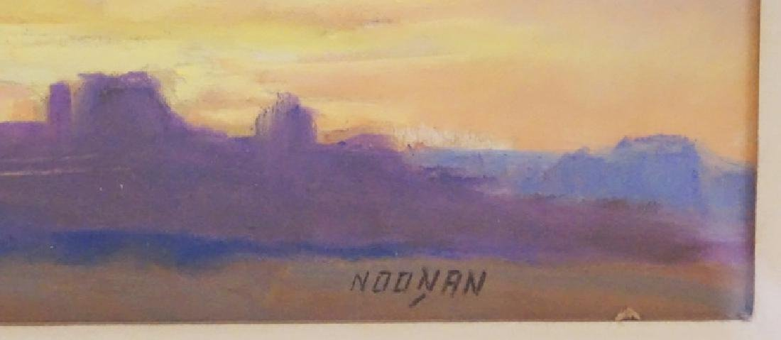 JOE THEODORE *WANNO-GANO* NOONAN PASTEL DRAWING - 2