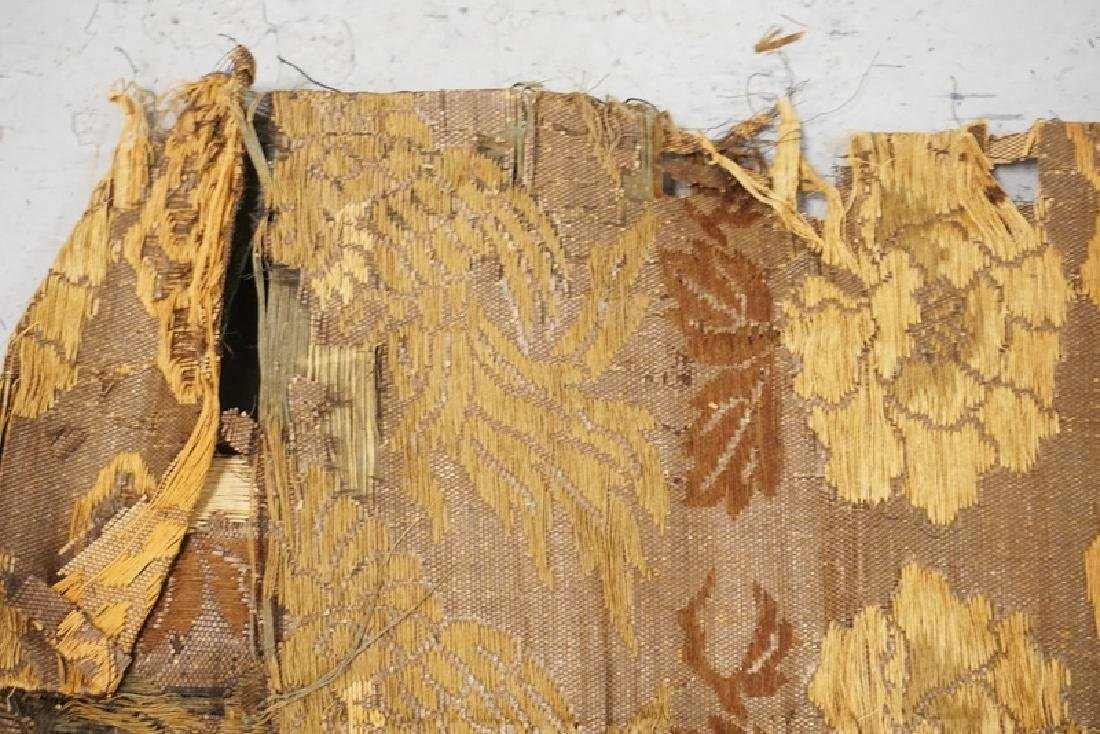 ANTIQUE HAND STITCHED TAPESTRY. - 4