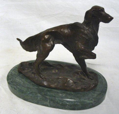 BRONZE DOG BY J. SROUSE