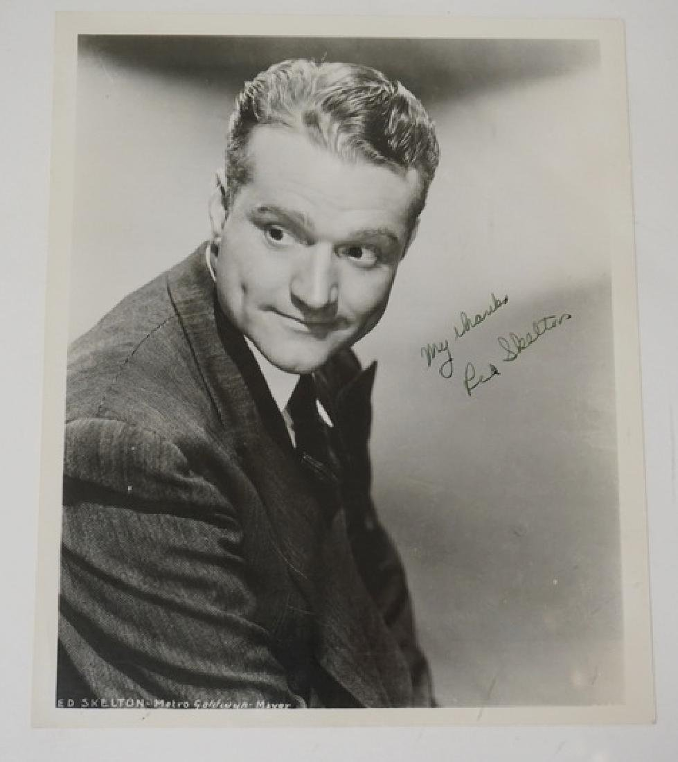RED SKELTON SIGNED PHOTO.