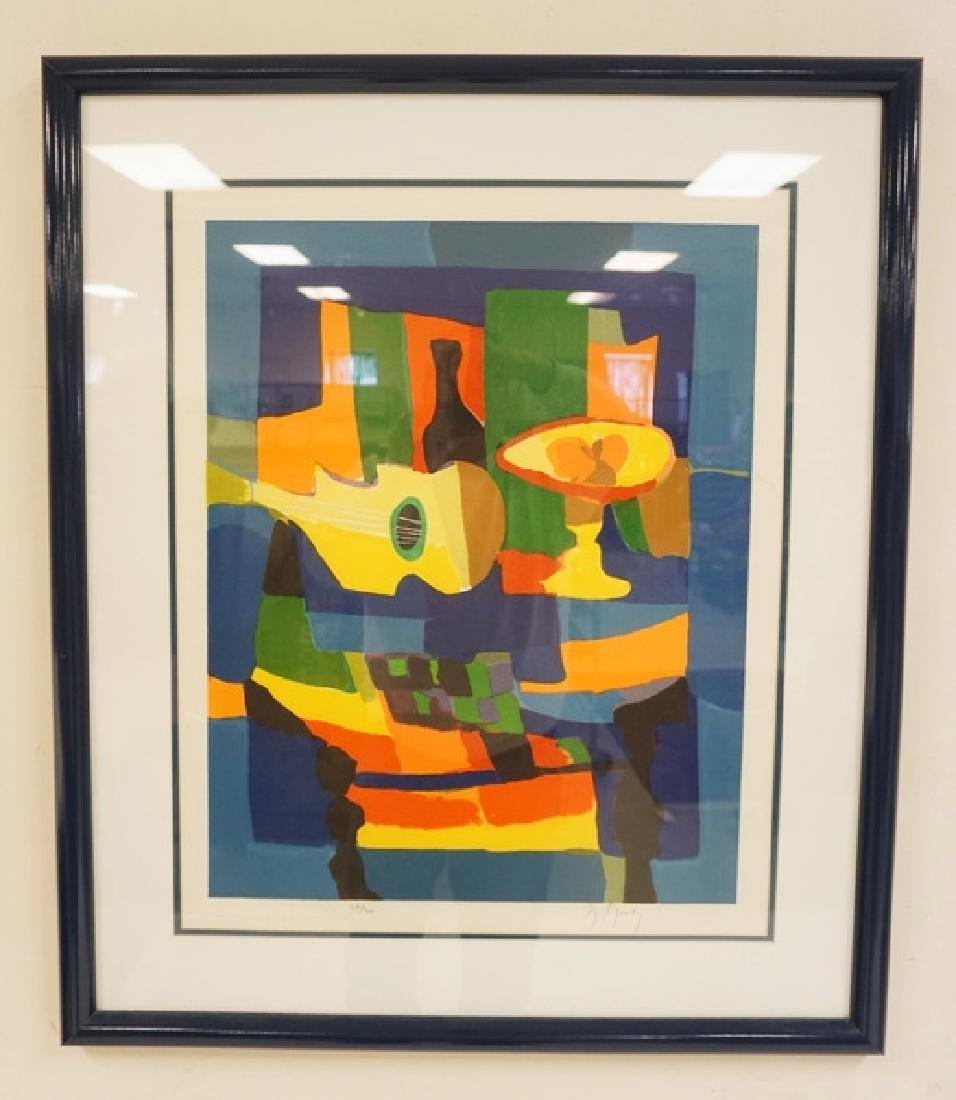 MARCEL MOULY PENCIL SIGNED AND NUMBERED LITHO. #38/300.