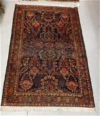 ANTIQUE HAND WOVEN ORIENTAL RUG MEASURING 6 FT 5 INCHES