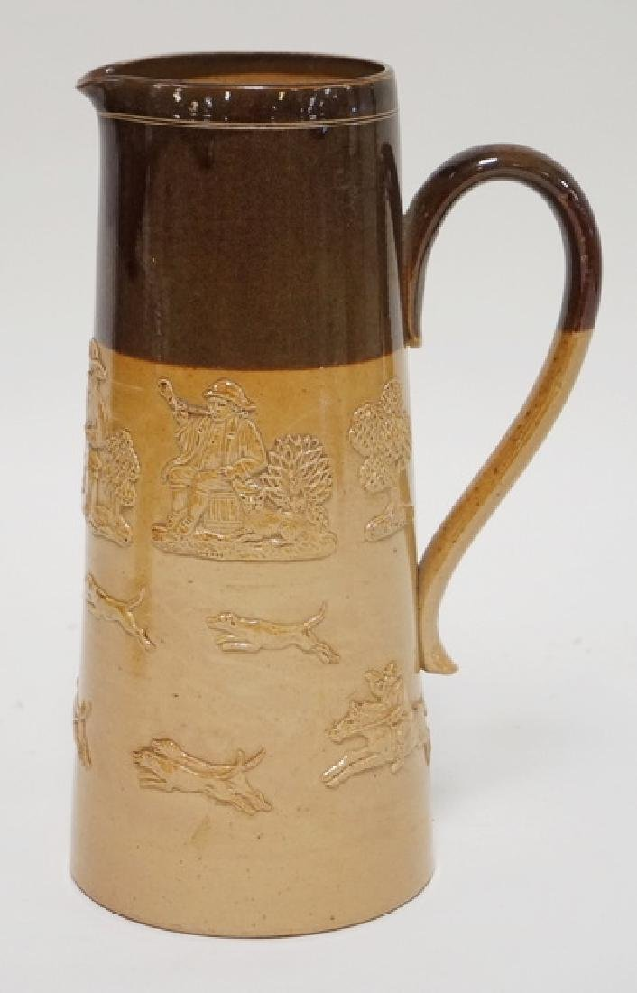 DOULTON LAMBETH #2398 *HARVEST* PITCHER WITH RELIEF