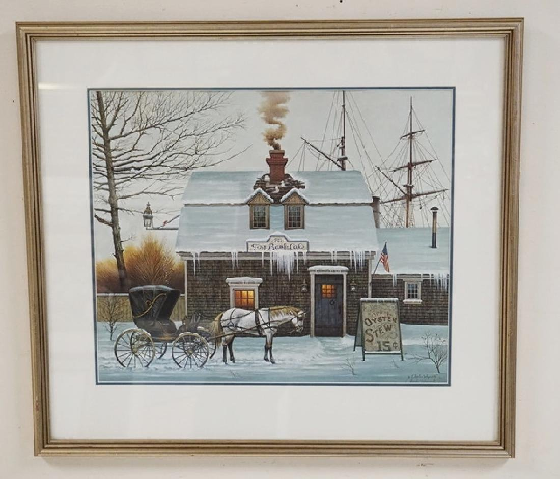 CHARLES WYSOCK PENCIL SIGNED LIMITED EDITION PRINT OF