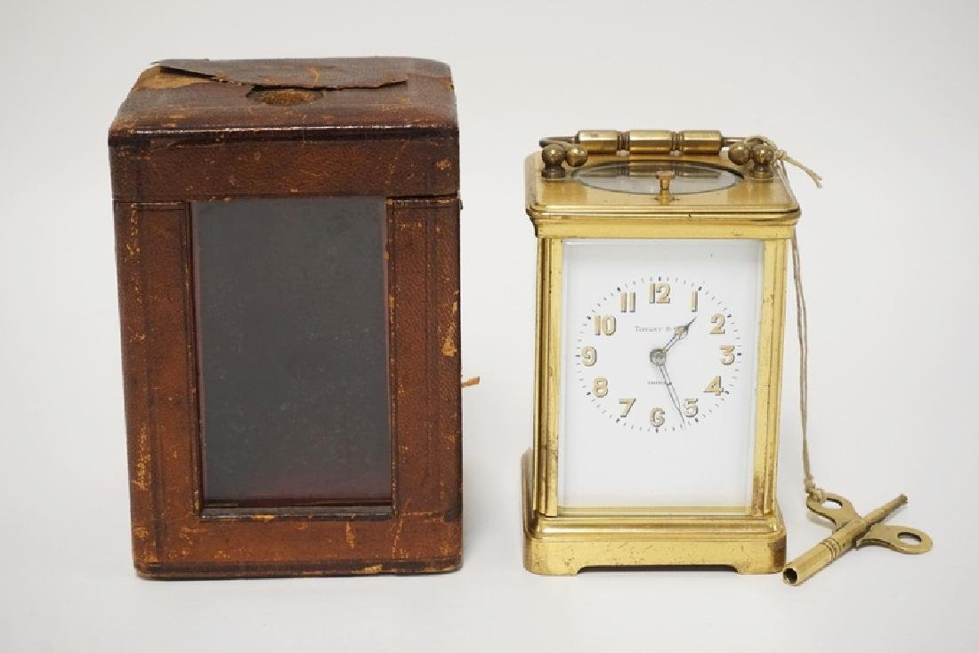 ANTIQUE FRENCH TIFFANY & CO REPEATER CARRIAGE CLOCK