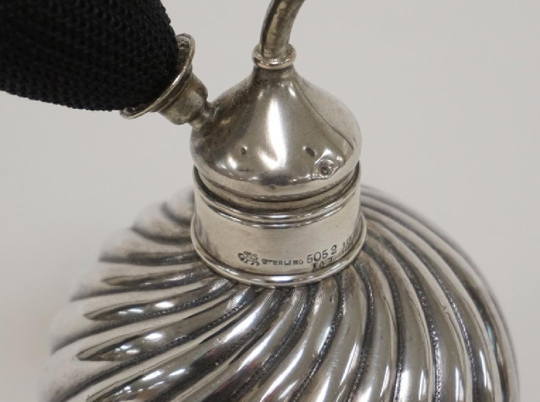 WHITING STERLING SIVLER ATOMIZER. LID HAS SOME PENCIL - 2