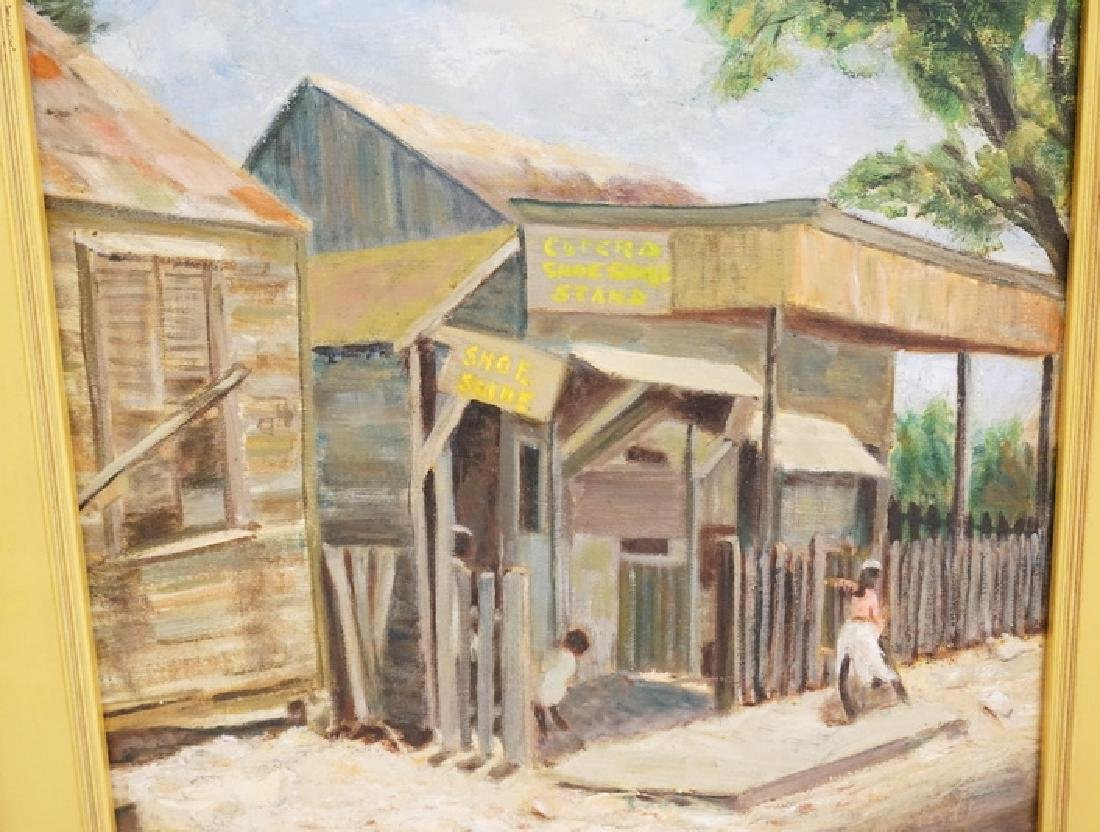DR. LAWRENCE GEORGE BEISLER (1896-1991) OIL PAINTING ON - 2