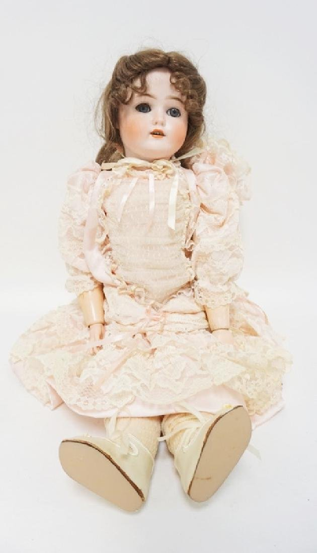 KLEY & HAHN GERMAN BISQUE HEAD DOLL. *SPECIAL* #4. IN A