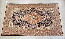 HAND WOVEN ORIENTAL RUG MEASURING 4 FT 4 INCHES X 7 FT