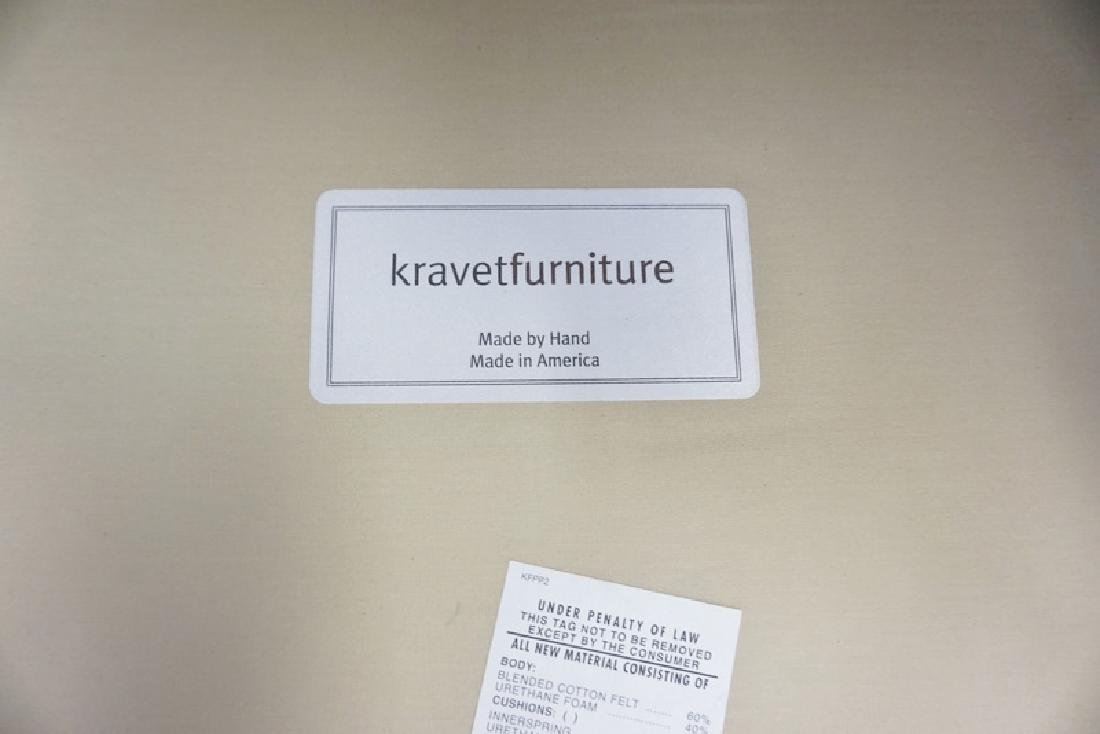 KRAVET FURNITURE UPHOLSTERED ARM CHAIR. 30 IN WIDE, 36 - 3