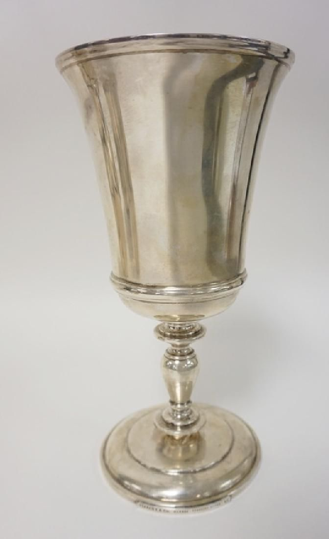 TIFFANY AND COMPANY MAKERS STERLING SILVER CHALICE.