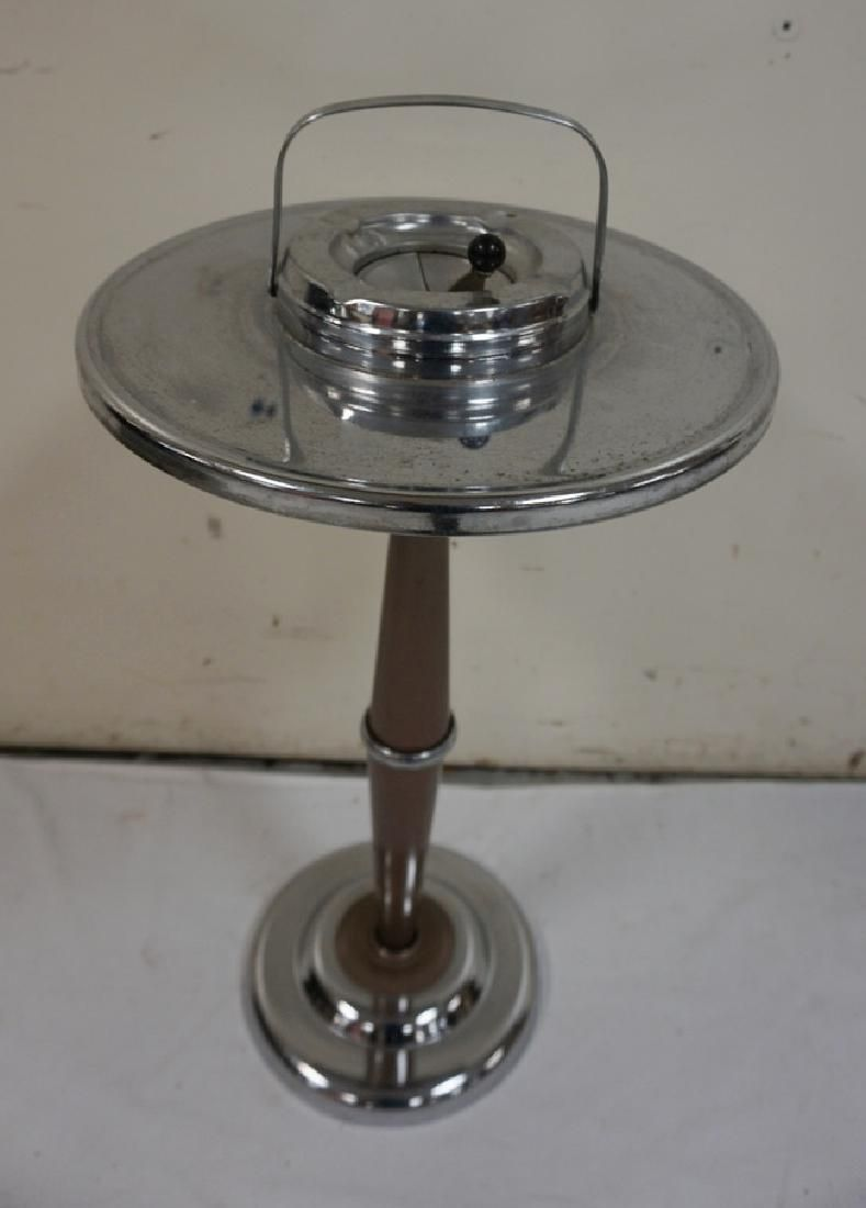 MID CENTURY MODERN SMOKING STAND. 27 INCHES HIGH. 13