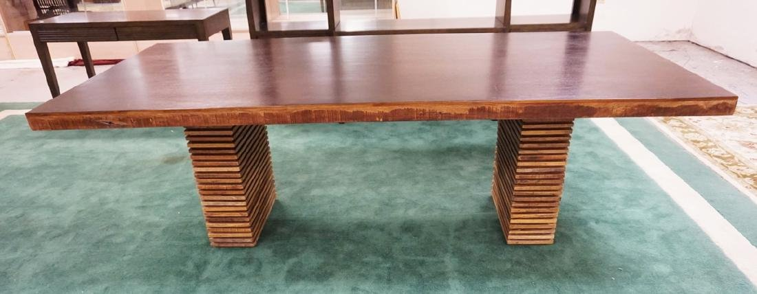 CRATE & BARREL *PALOMA* DINING TABLE CONSTRUCTED OF