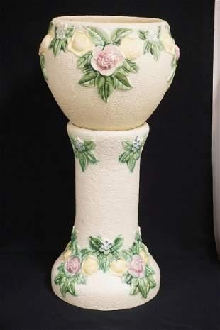 1917 ROSEVILLE ROZANE ART POTTERY JARDINIERE &