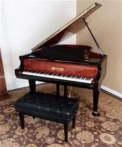 PERZINA GX-187 DELUXE UPGRADE GRAND PIANO PLAYER RENNER