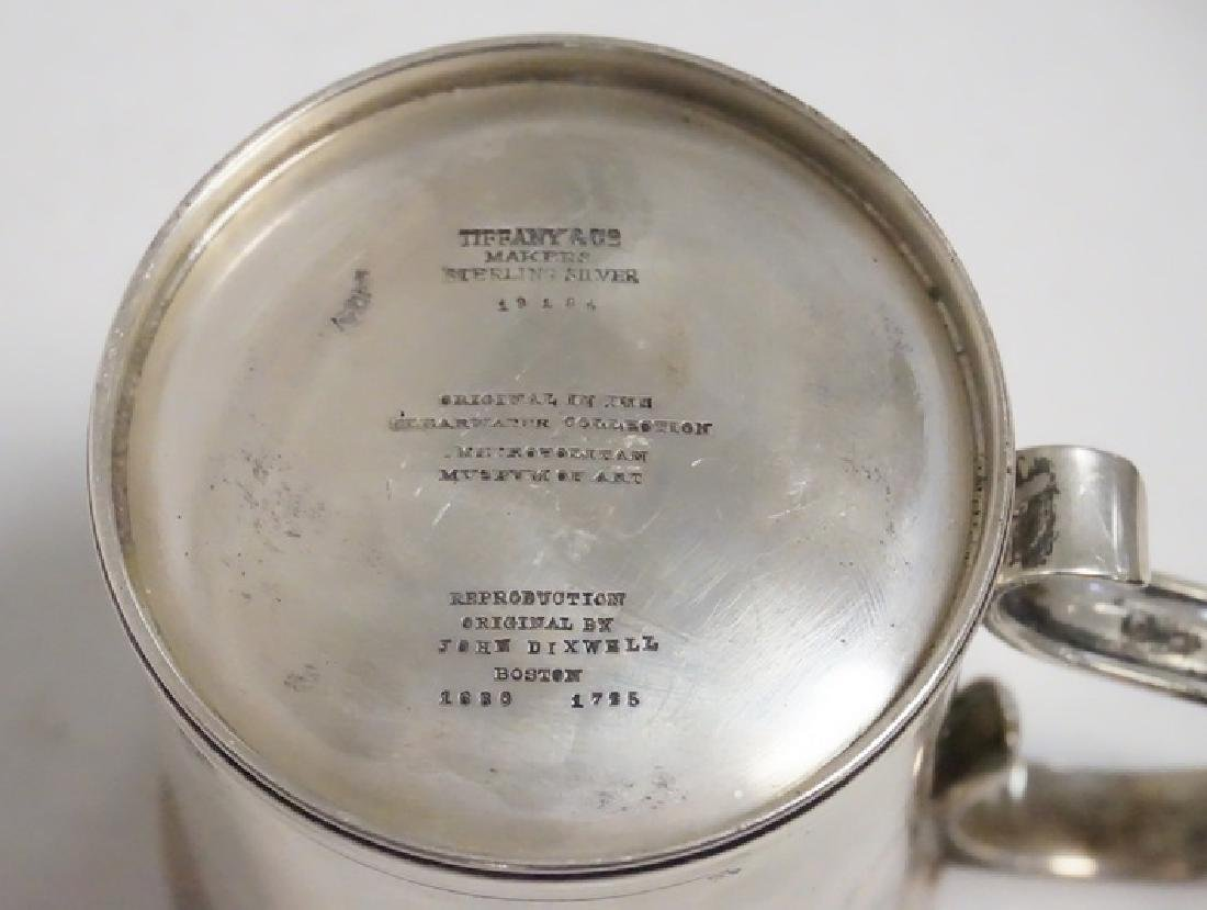 TIFFANY & CO MAKERS STERLING SILVER REPRODUCTION OF AN - 2