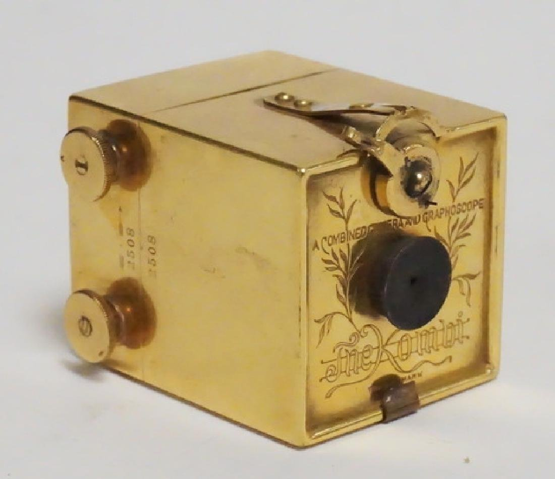 RARE KOMBI SUB-MINIATURE CAMERA. COLUMBIAN EXPOSITION,