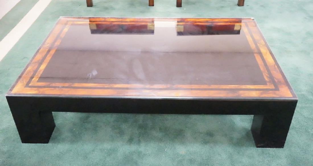 LAQUERED COFFEE TABLE